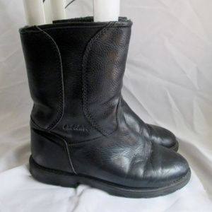CABELA'S Leather SHEARLING Snow Rain Boot